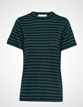 Munthe Niko T-shirts & Tops Short-sleeved Blå MUNTHE