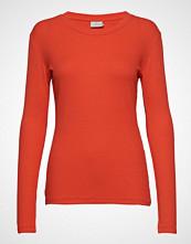 Kaffe Kalia Long Sleeve T-Shirt T-shirts & Tops Long-sleeved Oransje KAFFE
