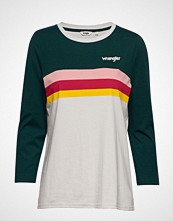 Wrangler Rainbow Tee T-shirts & Tops Long-sleeved Multi/mønstret WRANGLER