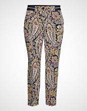 Gerry Weber Crop Leisure Trouser Bukser Med Rette Ben Multi/mønstret GERRY WEBER