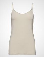 Levete Room Lr-Caro T-shirts & Tops Sleeveless Creme LEVETE ROOM