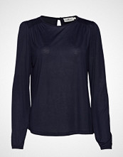 Lexington Clothing Lilja Jersey Blouse T-shirts & Tops Long-sleeved Blå LEXINGTON CLOTHING