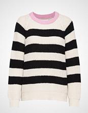 Mads Nørgaard Recycled Favorite Wool Ketty Strikket Genser Hvit MADS NØRGAARD