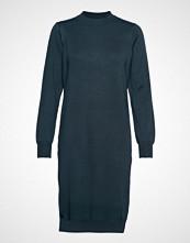 Saint Tropez U6816, Knitted Dress L/S Strikket Kjole Blå SAINT TROPEZ