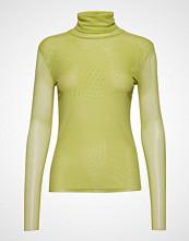 Soaked in Luxury Sl Corn T-Shirt Ls Høyhalset Pologenser Gul SOAKED IN LUXURY
