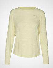 Röhnisch Sheer Long Sleeve Top T-shirts & Tops Long-sleeved Gul RÖHNISCH