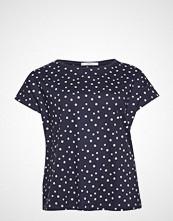 Violeta by Mango Polka Dots Cotton T-Shirt T-shirts & Tops Short-sleeved Blå VIOLETA BY MANGO