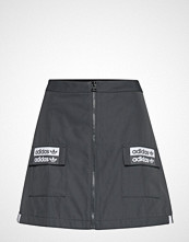 Adidas Originals Skirt Kort Skjørt Svart ADIDAS ORIGINALS