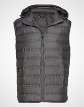 Mango Man Waterproof Ultralight Waistcoat Vest Grå MANGO MAN