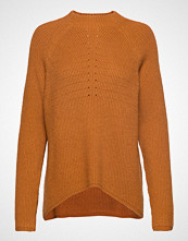 Soft Rebels Mille T-Neck Knit Strikket Genser Brun Soft Rebels