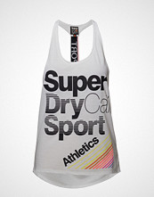 Superdry Sport Cali Girl Vest T-shirts & Tops Sleeveless Hvit SUPERDRY SPORT