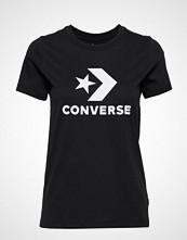 Converse Converse Star Chevron Tee T-shirts & Tops Short-sleeved Svart CONVERSE