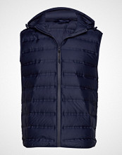Mango Man Waterproof Ultralight Waistcoat Vest Blå MANGO MAN