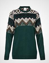 Junarose Jrannabell Ls Knit Pullover - S Strikket Genser Grønn JUNAROSE