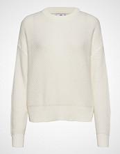 Mango Chunky-Knit Sweater Strikket Genser Creme MANGO