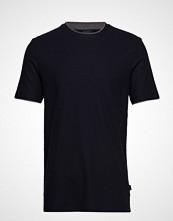 BOSS Business Wear Tiburt 135_ws T-shirts Short-sleeved Svart BOSS BUSINESS WEAR