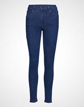 Cheap Monday High Skin Dusk Blue Skinny Jeans Blå CHEAP MONDAY