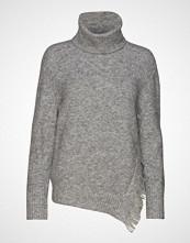 3.1 Phillip Lim Fringe Overlap Sweater Høyhalset Pologenser Grå 3.1 PHILLIP LIM