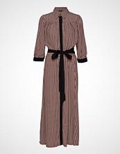 Selected Femme Slfabigail-Florenta 3/4 Aop Ankle Dressb Maxikjole Festkjole Rosa SELECTED FEMME