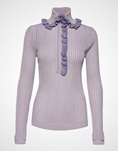Hope Shirt Sweater Strikket Genser Lilla HOPE