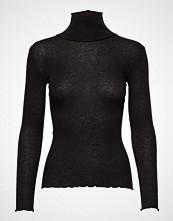 Rosemunde Wool T-Shirt Turtleneck Regular Ls Høyhalset Pologenser Svart ROSEMUNDE