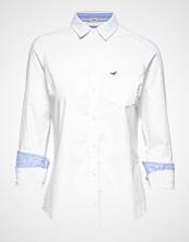 Hollister Longsleeve Classic Shirt Langermet Skjorte Hvit HOLLISTER