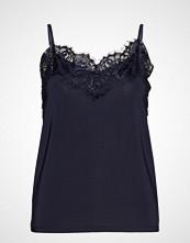 Soaked in Luxury Sl Clara Singlet T-shirts & Tops Sleeveless Blå SOAKED IN LUXURY