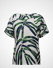 Nanso Ladies Shirt, Palmu T-shirts & Tops Short-sleeved Grønn NANSO