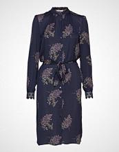 Rosemunde Dress Ls Knelang Kjole Blå ROSEMUNDE