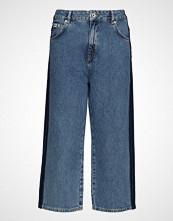 Superdry Phoebe Wide Leg Vide Bukser Blå SUPERDRY