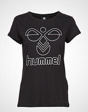 Hummel Hmlrose T-Shirt S/S T-shirts & Tops Short-sleeved Svart HUMMEL