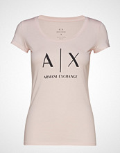 Armani Exchange Ax Woman T-Shirt T-shirts & Tops Short-sleeved Rosa ARMANI EXCHANGE