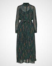 Bruuns Bazaar Camou Cora Dress Maxikjole Festkjole Grønn BRUUNS BAZAAR