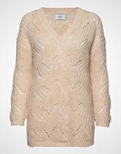 Only Onlhavana L/S V-Neck Pullover Cc Knt Strikket Genser Beige ONLY