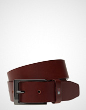 Tommy Hilfiger Layton Leather Belt Belte Brun TOMMY HILFIGER