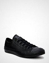 Converse All Star Mono Leather Ox Sneakers Sko Svart CONVERSE