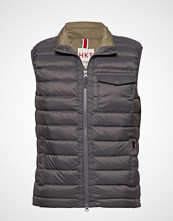 HKT BY HACKETT Hkt Ltweight Down Glt Vest Grå HKT BY HACKETT