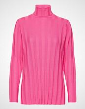 Marimekko Vertaus Solid Knitted Tunic Høyhalset Pologenser Rosa MARIMEKKO