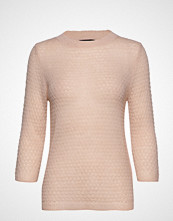 Mango Open-Knit Sweater Strikket Genser Rosa MANGO