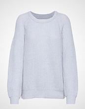 Mads Nørgaard Recycled Favorite Wool Ketty Strikket Genser Blå MADS NØRGAARD