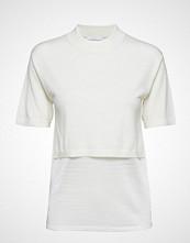 BOSS Business Wear Flamenca T-shirts & Tops Short-sleeved Hvit BOSS BUSINESS WEAR