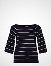 Violeta by Mango Strip Printed Sweater T-shirts & Tops Long-sleeved Blå VIOLETA BY MANGO