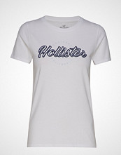 Hollister Tech Core Tee T-shirts & Tops Short-sleeved Hvit HOLLISTER