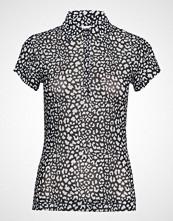 DAILY SPORTS Jaiden Mesh Cap/S Polo Shirt T-shirts & Tops Short-sleeved Svart DAILY SPORTS