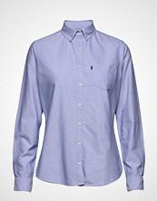 Lexington Clothing Sarah Oxford Shirt Langermet Skjorte Blå LEXINGTON CLOTHING