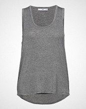 Mango Fine Knit Top T-shirts & Tops Sleeveless Grå MANGO