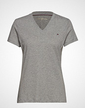 Tommy Hilfiger Heritage V-Neck Tee T-shirts & Tops Short-sleeved Grå TOMMY HILFIGER