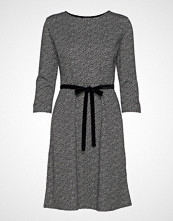 Betty Barclay Dress Short 3/4 Sleeve Knelang Kjole Grå BETTY BARCLAY
