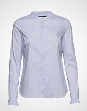 Mos Mosh Mattie Check Shirt Langermet Skjorte Blå MOS MOSH