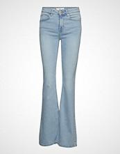 Mango Flared Jeans Flare Jeans Sleng Blå MANGO